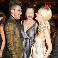 Henry Holland, Daisy Lowe and Poppy Delevingne