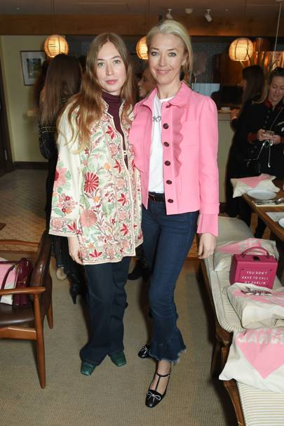 Anouska Beckwith and Tamara Beckwith