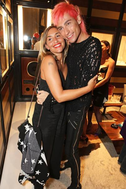 Melanie Blatt and Kyle De'Volle
