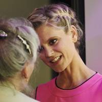 Emilia Fox and Phyllida Law