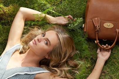 Cressida Bonas for Mulberry