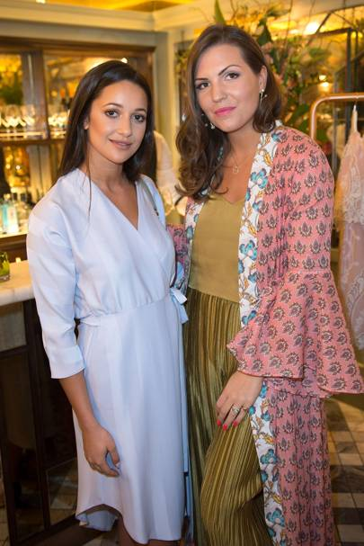 Roxie Nafousi and Sophie Bartelski Mitchell