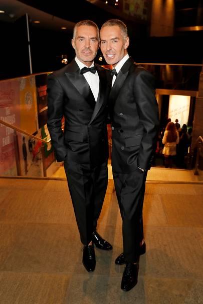 Dan Caten and Dean Caten
