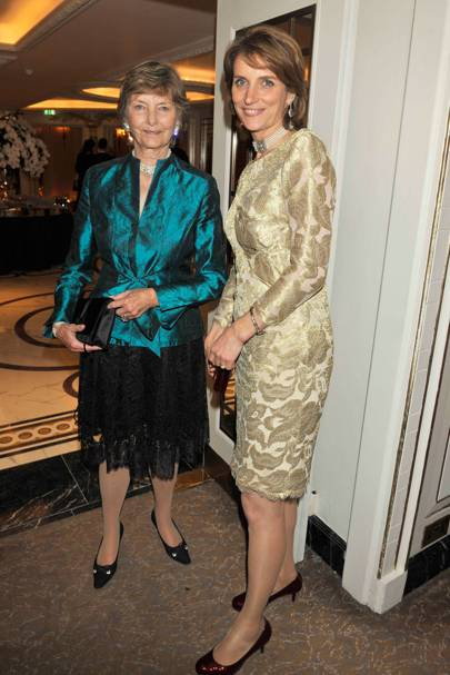 The Countess of Carnarvon and Lady Carolyn Warren