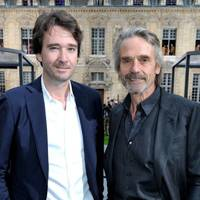 Antoine Arnault and Jeremy Irons
