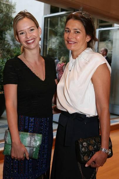 Marissa Hermer and Averyl Oates