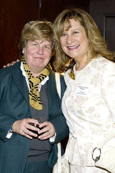 Sandi Toksvig and Baroness Kennedy