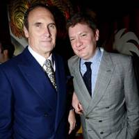 AA Gill and Alex Bilmes