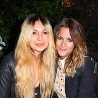 Zara Martin and Caroline Flack