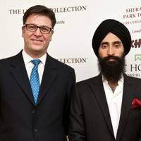 Paul James and Waris Ahluwalia