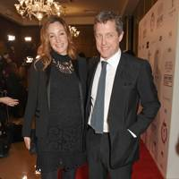 Anna Eberstein and Hugh Grant