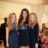 Megan Ford, Olivia Lower and Gemma Ford