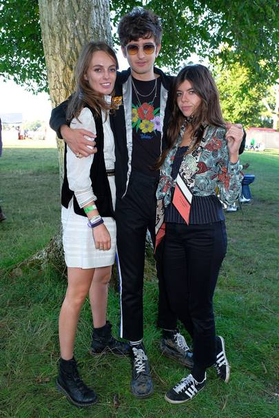 Lady Violet Manners, Max Hurd and Jessica Draper