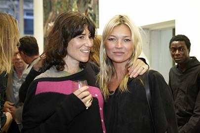 Bella Freud and Kate Moss