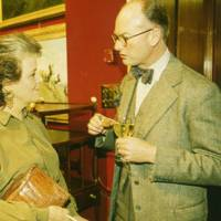 Lady Panufnik and Thomas Ponsonby