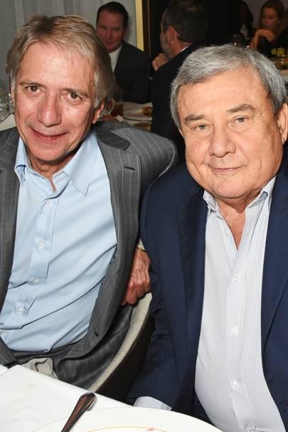 Malcolm Walker and Sol Kerzner