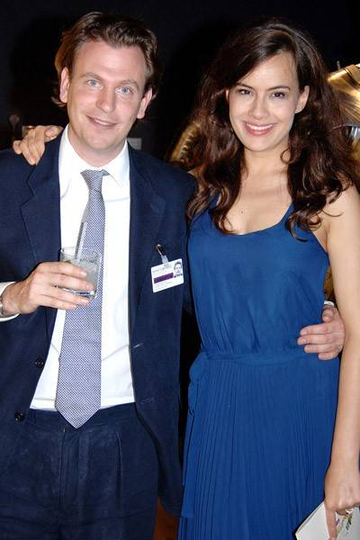 Ronald Finer and Lady Frederick Windsor