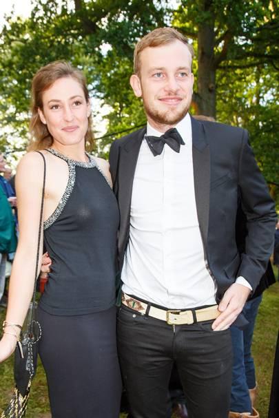 Lady Tatiana Mountbatten and Earl of Medina