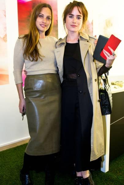 Anna Laub and Julia Hobbs