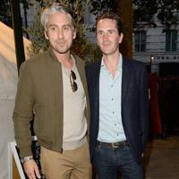 George Lamb and Otis Ferry
