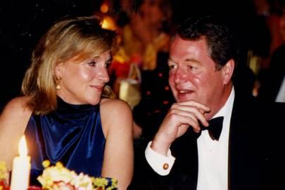 Mrs William Bartholomew and Nick Irens
