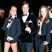 Victoria Dashwood, Anthony Maxwell-Jones and Ella Hadsley-Chaplin