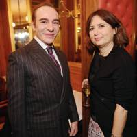 John Galliano and Alexandra Shulman