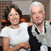Olga Polizzi and Nicky Haslam