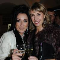 Nancy Dell'Olio and Assia Webster