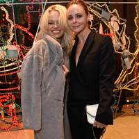 Pamela Anderson and Stella McCartney
