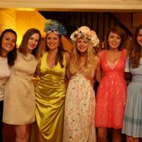Sabine Zonderland, Lucy Trice, Charlotte Moss, Lotte Brouwer, Jen Steele and Laura Brouwer