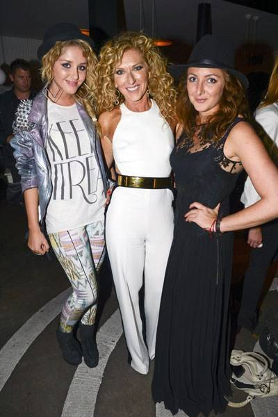 Esmée Denters, Kelly Hoppen and Natasha Corrett