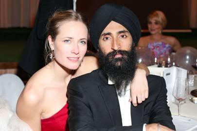 Sophie Oakley and Waris Ahluwalia