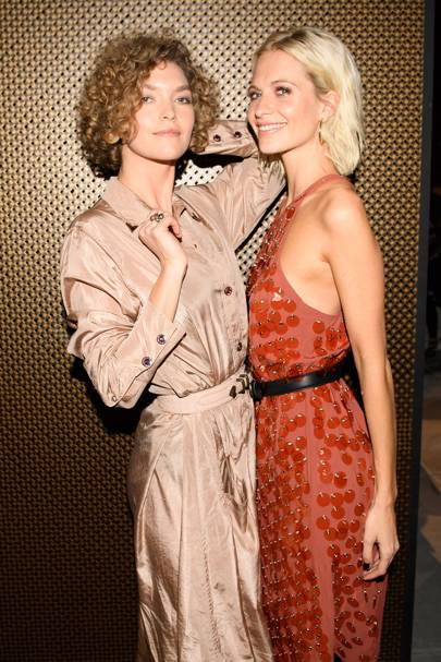 Arizona Muse and Poppy Delevingne