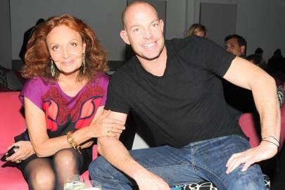 Diane von Furstenberg and Alex von Furstenberg