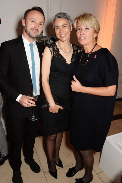 Jeff Beetlestone, Paula Beetlestone and Emma Thompson