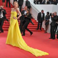Charlize Theron wearing Christian Dior Couture in 2015