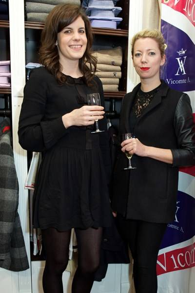 Laura Cathcart and Kat Maconie