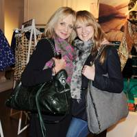 Twiggy and Carly Lawson
