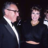 Raquel Welch, Henry Kissinger and Andre Weinfeld