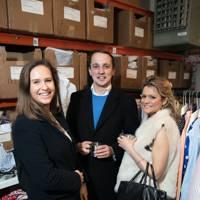 Charlotte Hall, George Jones and Laura Goodson