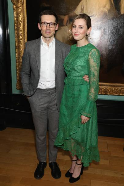 Erdem Moralioglu and Laura Carmichael