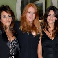 Sarah Shotton, Monica Cruz and Penelope Cruz