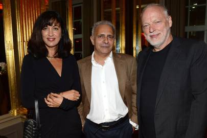 Polly Samson, Hanif Kureishi and David Gilmour