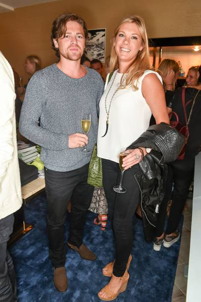 Charles Goode and Chelsy Davy