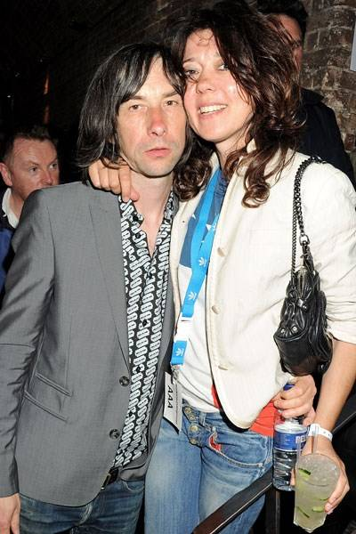 Bobby Gillespie and Katy England