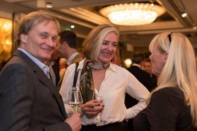 Roland Zettel, Claire Zambuni and Elaine Stewart