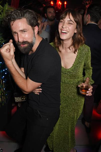 Jack Guinness and Alexa Chung