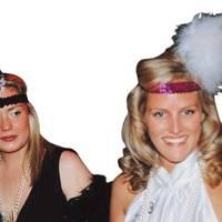 Miranda Sykes and Diana de la Rue