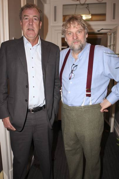 Jeremy Clarkson and Eggert Johannsson